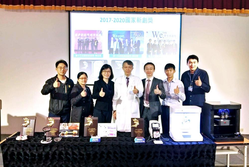 器官晶片展現精準醫療應用 中國附醫獲國家新創獎