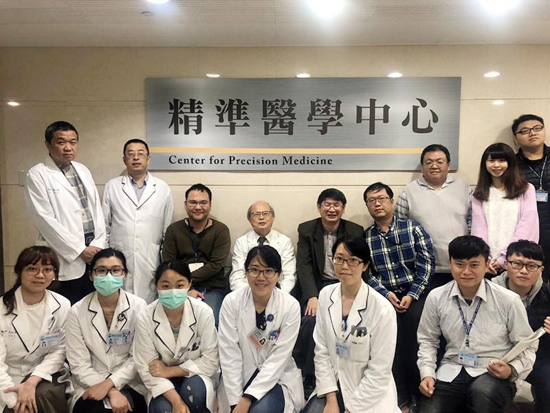 中國附醫「精準醫學中心」團隊