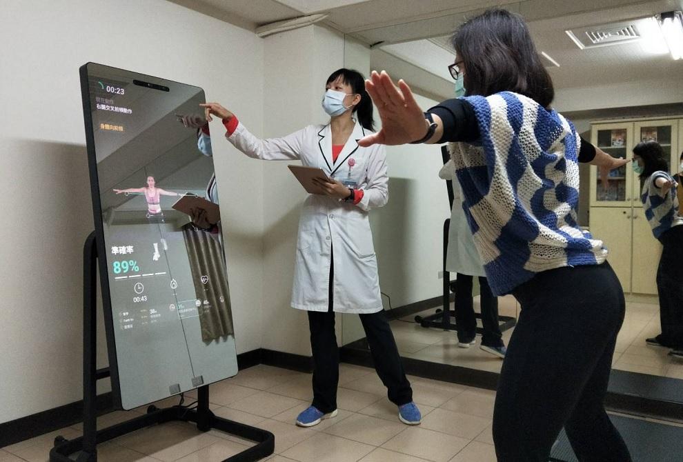中國附醫攜手元保宮打造「智慧社區」提供檢測及預防保健為民眾健康把關
