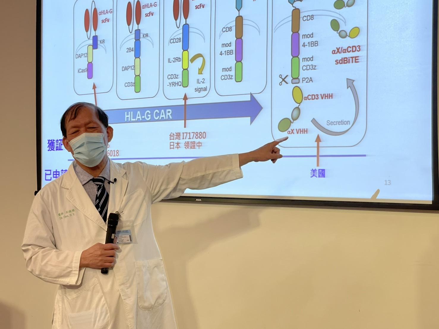 中國附醫與長聖生技共同攜手研發抗癌新利器嵌合抗原受體免疫細胞療法