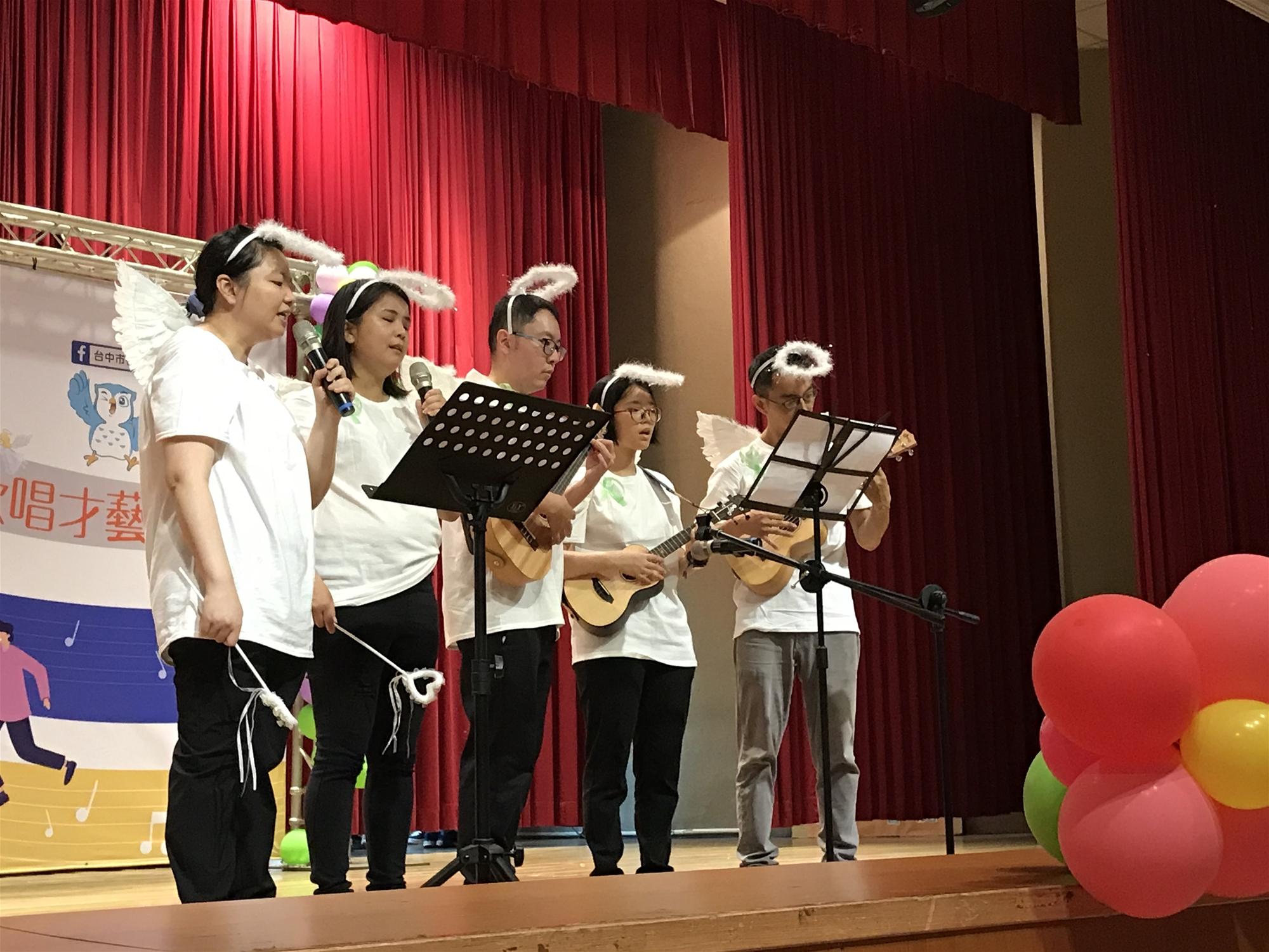 參加台中市衛生局舉辦『109年康復天使歌唱才藝比賽』,榮獲「優勝」佳績1