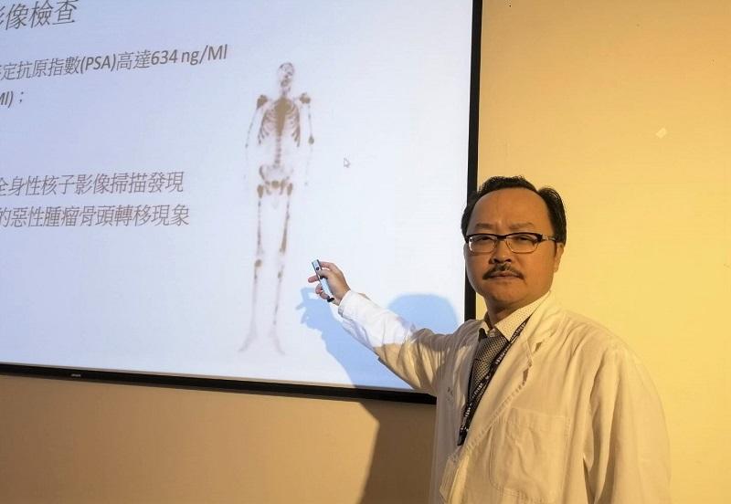泌尿部黃志平醫師|骨頭疼痛難忍因疫情不敢就醫 57歲男攝護腺癌竟合併骨轉移