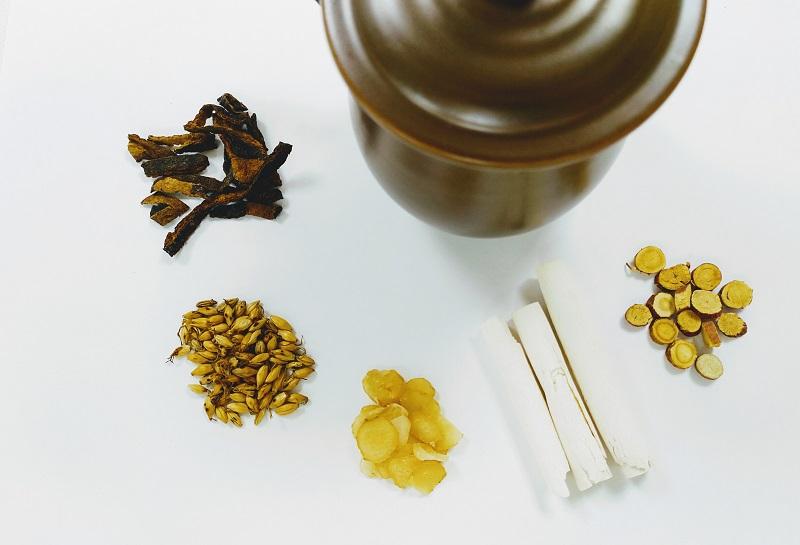 中藥消食茶飲