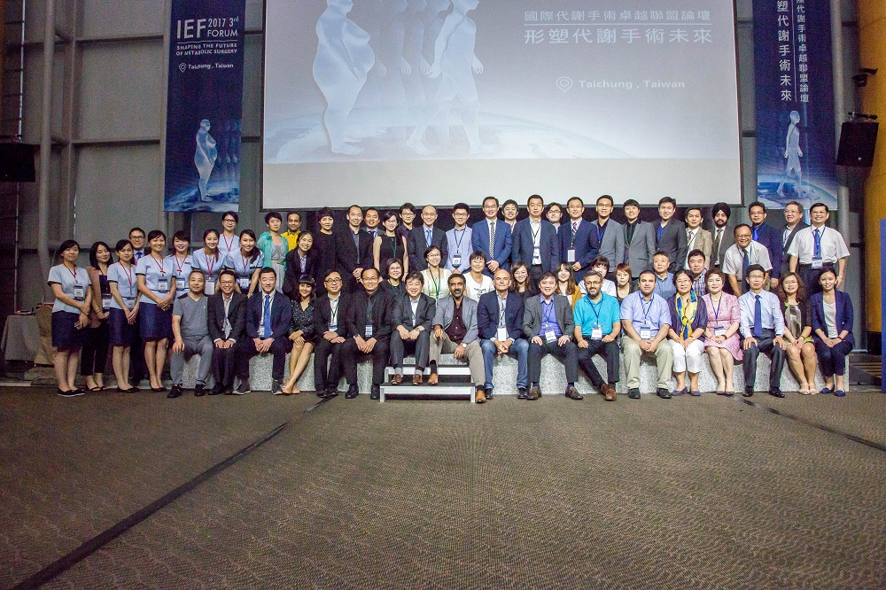 "the 3rd International Excellence Federation for Bariatric & Metabolic Surgery Forum ""Shaping the Future of Metabolism"""