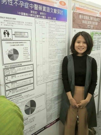 Director Shan-Yu Su instructed Dr. Xie Yiting to participate in the 10th Taipei International Forum of Chinese Medicine Academic Forum on the 88th National Medical Day, and published a poster paper