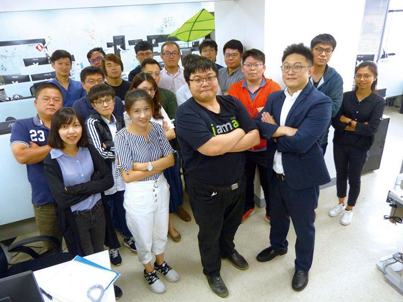 長佳智能公司延攬的國際菁英研發創新團隊
