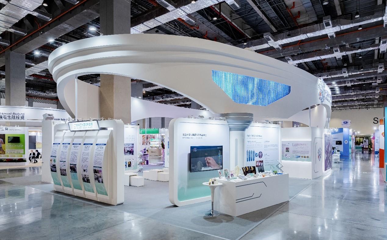 圖:2019台灣醫療科技展 多維列印中心展區