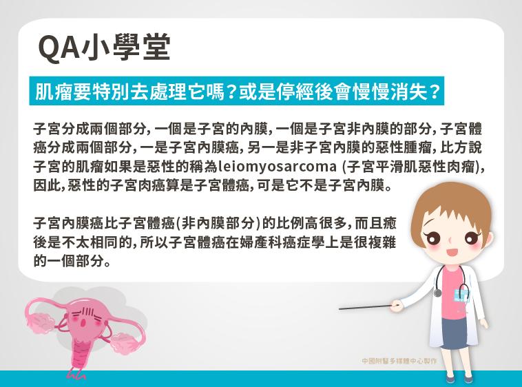 張穎宜醫師|子宮分成兩個部分,即子宮的內膜與子宮非內膜的部分