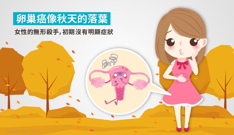 張穎宜醫師|卵巢癌就像秋天的落葉,初期沒有明顯症狀