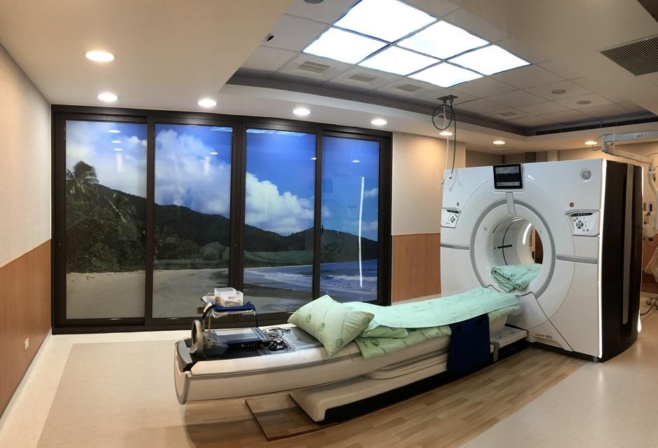 寶石全景電腦斷層檢查儀(CT)