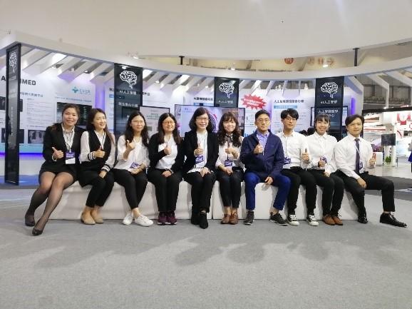 2020台灣醫療科技展 多維列印中心 參展人員合照1