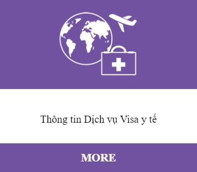 Thông tin Dịch vụ Visa y tế