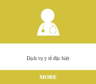 Dịch vụ y tế đặc biệt