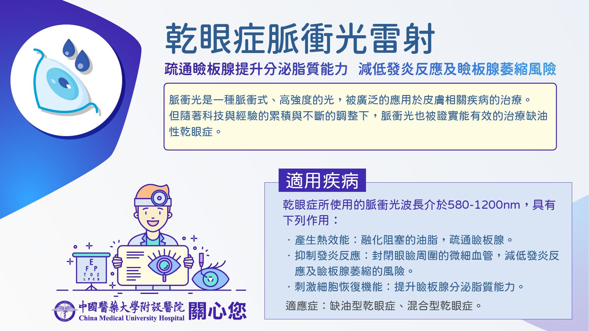 乾眼症脈衝光雷射手術介紹
