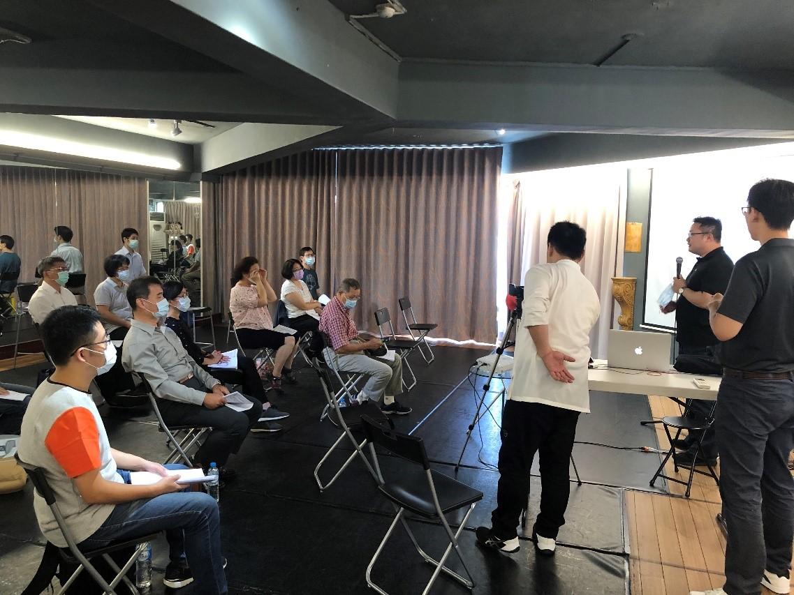 黃敬軒主任與郭于賢醫師舉辦中醫建構社區居家醫療服務網絡計畫的種子教師培育研討會議
