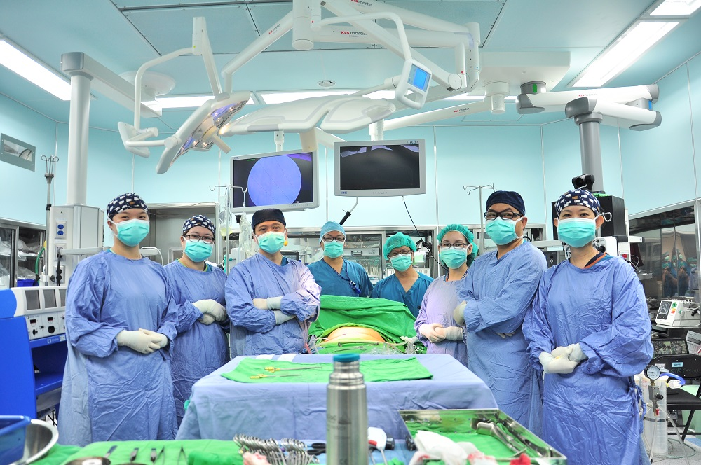 Development of Taiwan Metabolic Weight Loss Procedure, with on-site demonstration