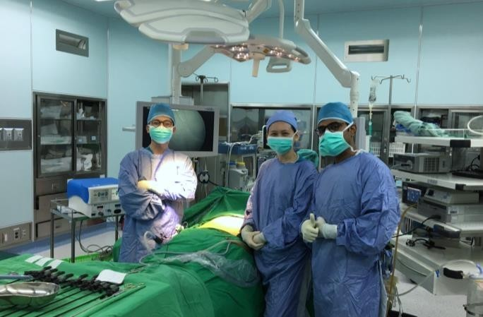 Observation at the BMI Medical Center operating theater