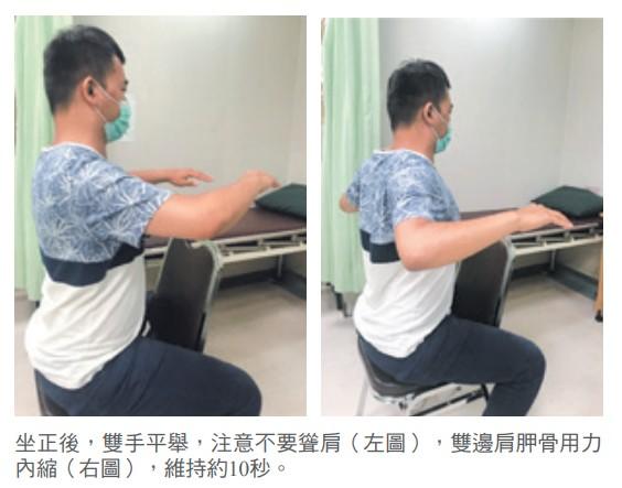 3.下斜方肌與菱形肌肌力訓練