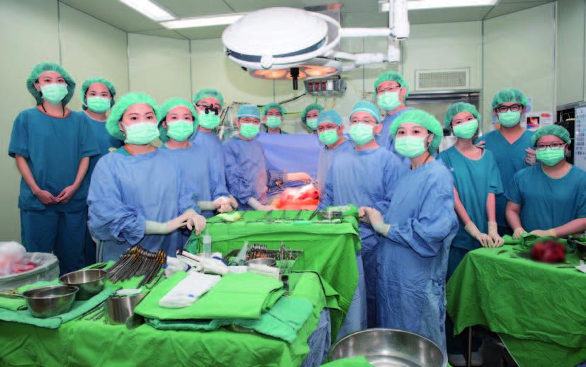 本院肝臟移植團隊(攝影╱盧秀禎)