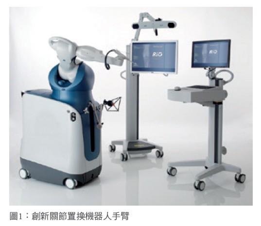 圖1:創新關節置換機器人手臂