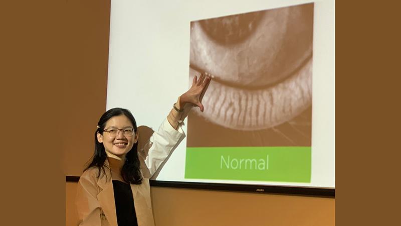 眼科醫學中心 眼科部江鈞綺醫師|乾眼症治療新選擇 脈衝光改善「瞼板腺功能障礙」