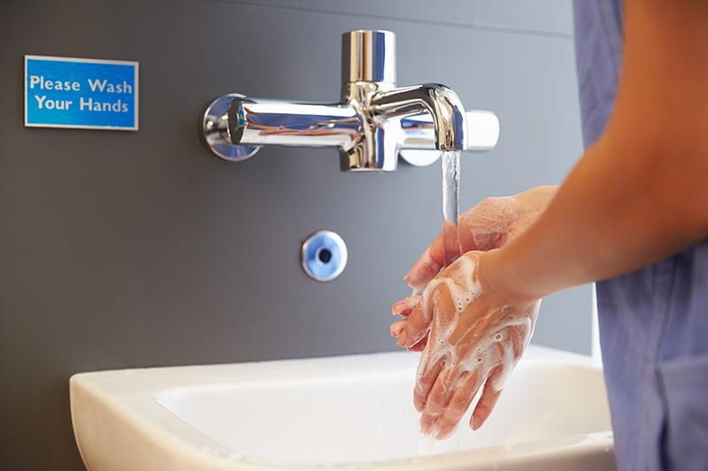勤洗手好好保護自己