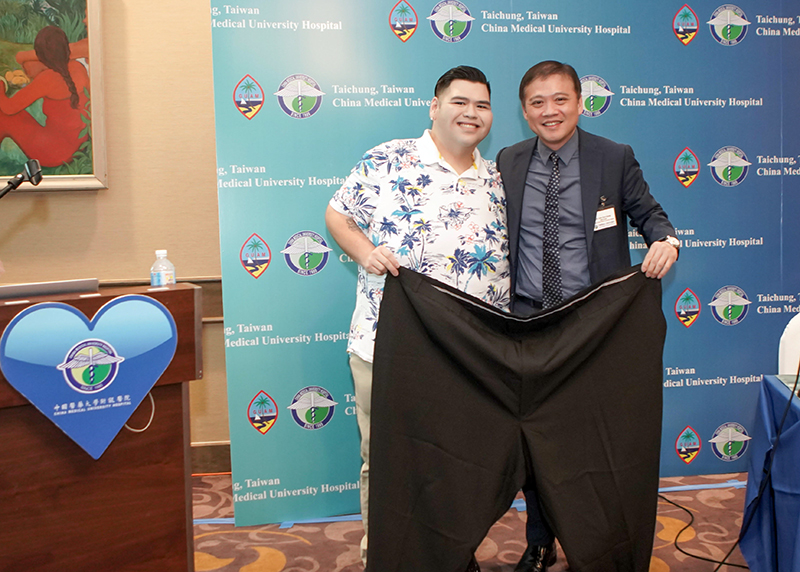 Losing Over 235Lbs And Liberated From A Cane, Two Guamanian Patients Are Given New Lives At Taiwan China Medical University Hospital